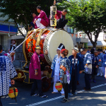 熊野宮 神輿太鼓の渡御(神幸祭)